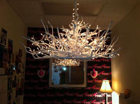 antler inspired lighting handcrafted wooden chandelier
