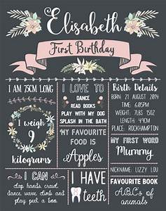 25 best ideas about chalkboards on pinterest chalk With first birthday board template