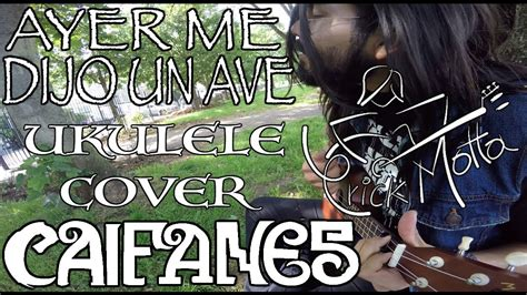Ayer Me Dijo Un Ave (caifanes) Ukulele Cover