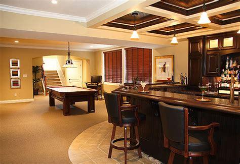 Basement Bar Design by Basement Bar Design Ideas
