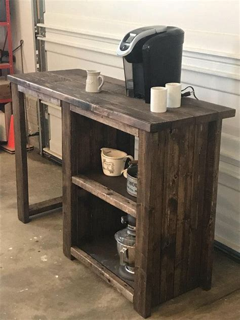 This website contains the best selection of designs bedroom coffee bar. FREE SHIPPING / Coffee bar with opening for a mini fridge   Etsy   Bar furniture, Diy coffee bar ...