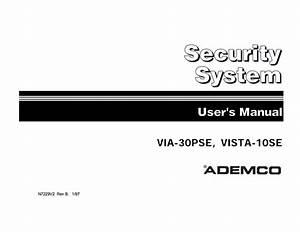 Ademco Via 30 User Manual