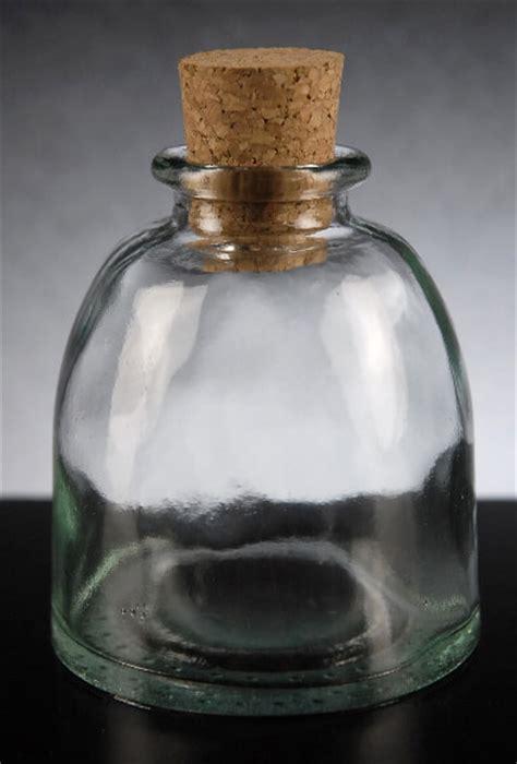 ottoman bottle clear glass ozml cork top