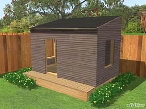 Comment Construire Une Cabane à écureuil : comment fabriquer une cabane de jardin ~ Melissatoandfro.com Idées de Décoration