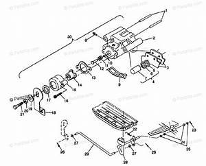 Polaris Atv 1995 Oem Parts Diagram For Rear Brake Assembly