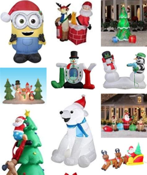 inflatable christmas decorations a listly list