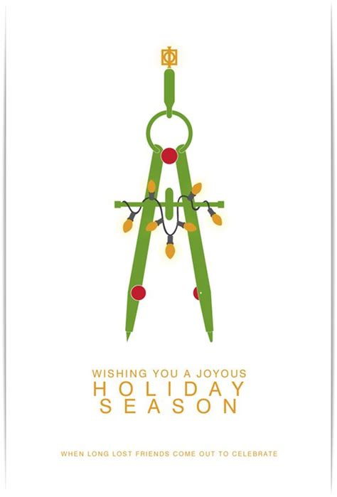 18 Best Architecture Christmas Cards Images On Pinterest