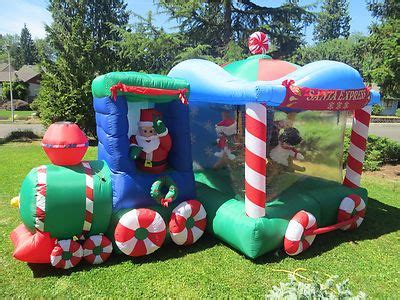 huge rare gemmy airblown inflatable christmas santa