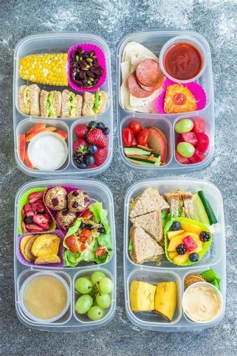 8 Healthy & Easy School Lunches  Kid Friendly Lunch Ideas