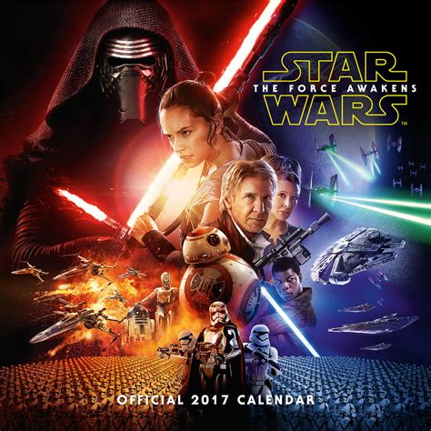star wars episode calendars ukposterseuroposters