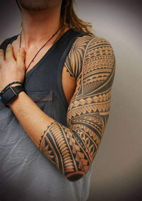 Ladies Tribal Tattoo Designs tribal sleeve tattoos designs ideas  meaning tattoos 679 x 960 · jpeg