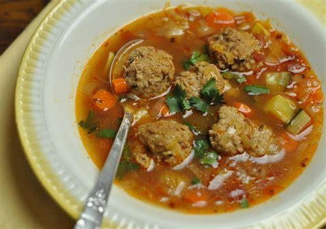 mexican soup names mexican meatball soup recipe dishmaps