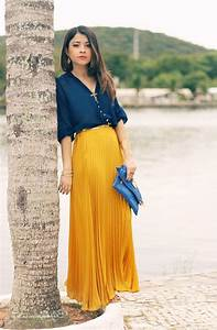 Long And Maxi Skirts Outfit Ideas 2018 | FashionTasty.com