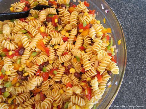 different pasta salads mary ellen s cooking creations pasta salad roundup
