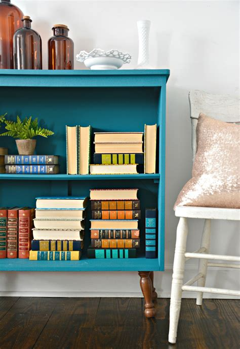 Painted Bookcase by Tranquil Bookcase With Velvet Finishes Paint