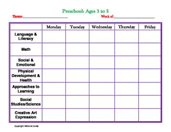 childcare or preschool lesson plans template by melanie 927 | original 2720083 1