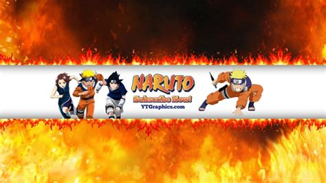 naruto youtube channel art banners