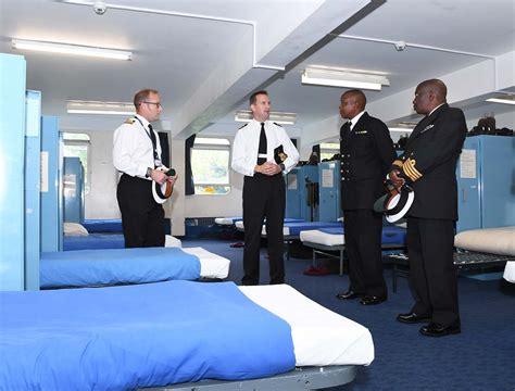 kenyan navy visits royal navy training establishments