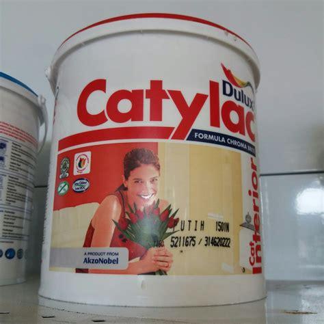 Jual Cat Tembok Dulux Catylac Interior 5kg di lapak Bumi