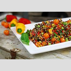 Yes It's Raw Food Easy Mediterraneanstyle Quinoa