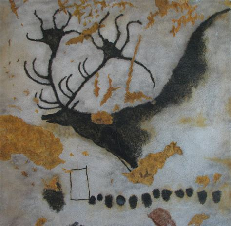 prehistoric cave art  spain france land