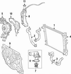 Cooling System For 2012 Chrysler Town  U0026 Country