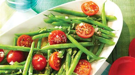 cuisine haricot vert salade de haricots verts et de tomates cerises recettes