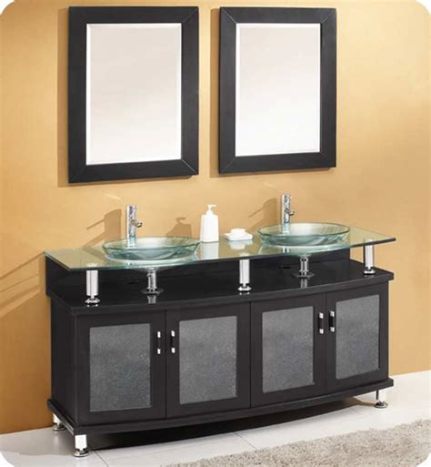 Modern Bathroom Sink And Mirror by Fresca Fvn3310es Contento 59 Quot Sink Modern Bathroom