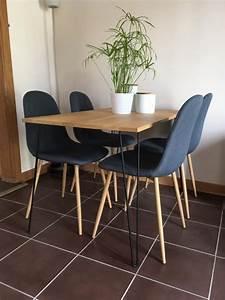 Table Pied Epingle : pied table de chevet ix75 jornalagora ~ Edinachiropracticcenter.com Idées de Décoration
