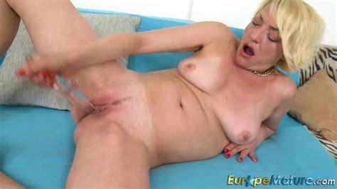 Europemature Blonde Ladies Solo Sex Toys Fun Porno