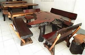 Holzbank Mit Tisch In Der Mitte : thaileben mehr bilder ~ Whattoseeinmadrid.com Haus und Dekorationen