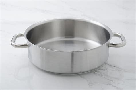 batterie de cuisine pour induction rondeau de cuisine professionnel diamètre 32 cm colichef
