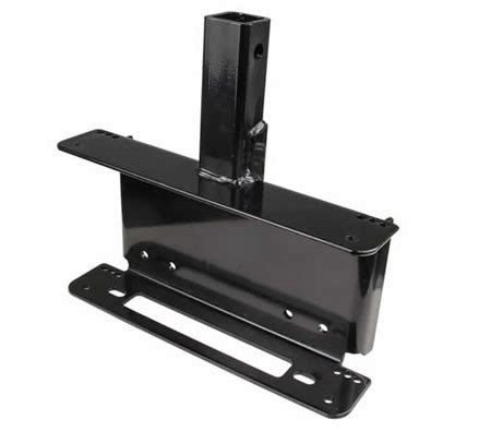 71764 4wd Discount Code by 4wd Winch Cradle Mounting Plate Pull Bar Receiver
