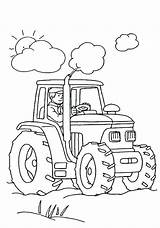 Coloring Pages Tractor Farm Boys Birthday Happy Animal Bestcoloringpagesforkids Colouring Printable sketch template