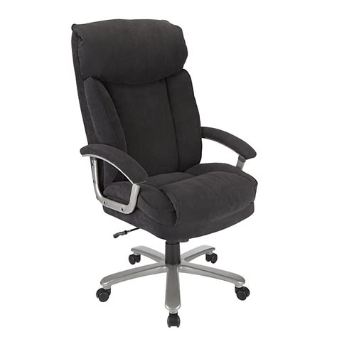 realspace btec 820 big executive fabric high back