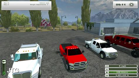 Farming Simulator 2013 Mods- International Hauler, F-450