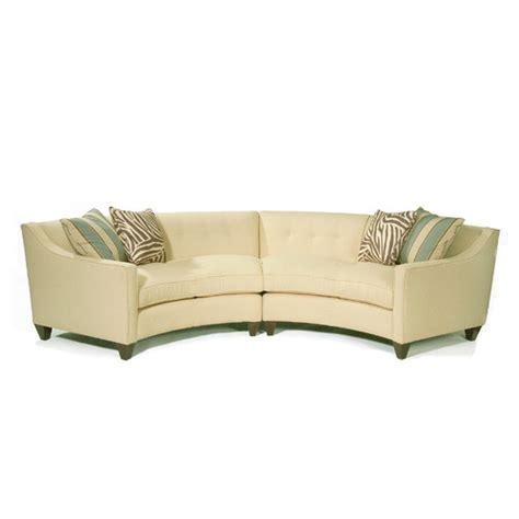 wayfair small sectional sofa curved sectional in milan vanilla wayfair
