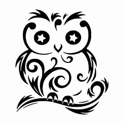 Tribal Owl Bird Decal Vinyl Sticker Tattoos