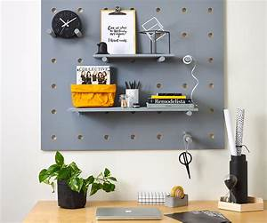 Four, Ways, With, Pegboard