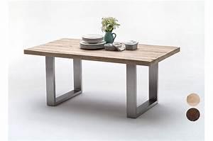 Salle A Manger Bois Moderne : table salle manger en bois moderne novomeuble ~ Teatrodelosmanantiales.com Idées de Décoration