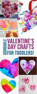16 Adorable Valentine's Day Crafts for Toddlers! | *Kid ...