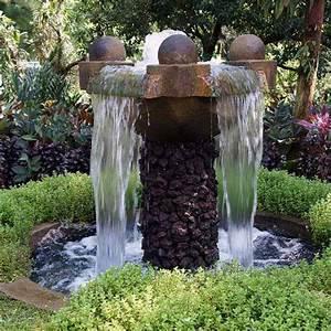 amenagement jardin eprenez vous de la fontaine de jardin With fontaine de jardin moderne