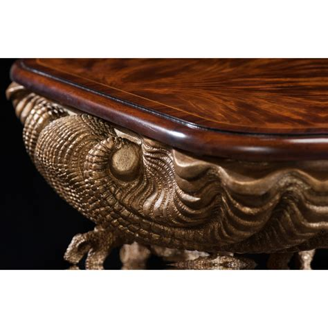 theodore alexander tables   gilt grotto table