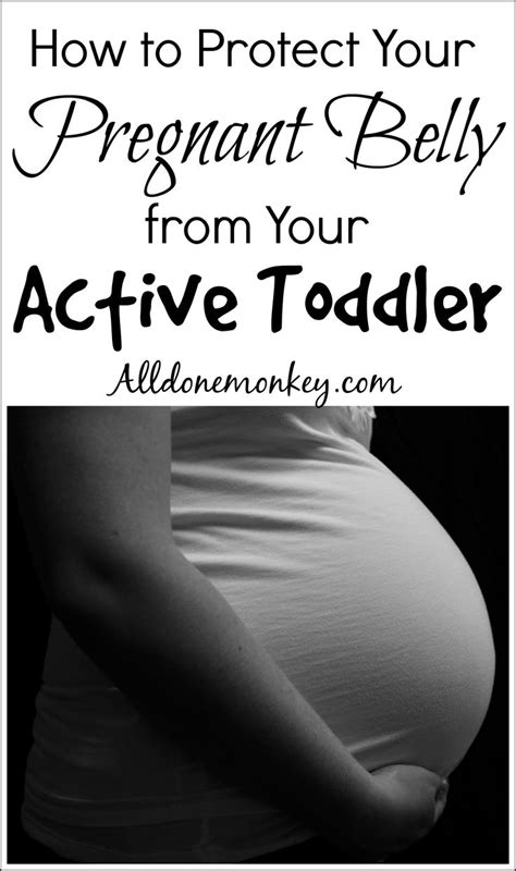 How to Protect Your Pregnant Belly from Your Active