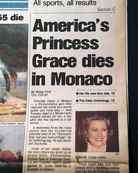 actress grace kelly death grace kelly american actress princess of monaco killed