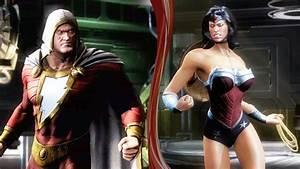 Shazam New 52 Vs Wonder Woman New 52 (Injustice Gods Among ...