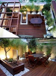 Terrassenmöbel Für Kleine Terrassen : dachterrasse gestalten tipps und 42 tolle ideen haus garten terrassen zenideen ~ Bigdaddyawards.com Haus und Dekorationen