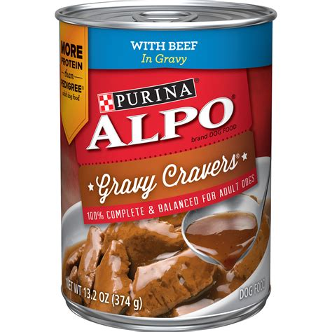 alpo gravy cravers  beef  gravy dog food shop