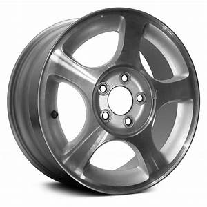 """Replace® - Ford Mustang 2000-2004 16"""" 5 Spokes Factory Alloy Wheel"""