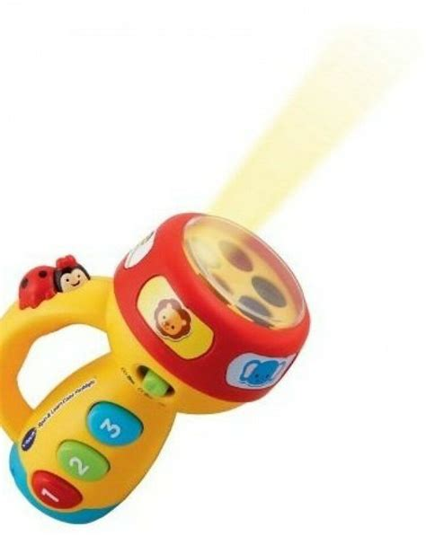 vtech spin and learn color flashlight toddler learning